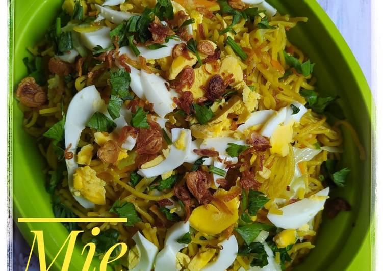 Resep Mie Kuning Banjar