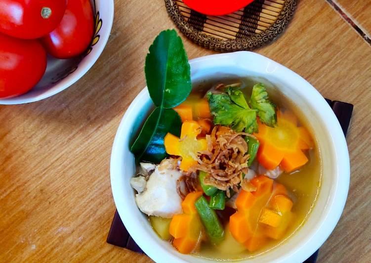 Resep Sup Ayam Klaten Simple