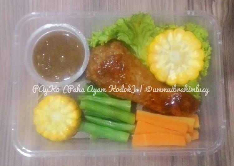 Resep PAyKo (Paha Ayam Kodok)