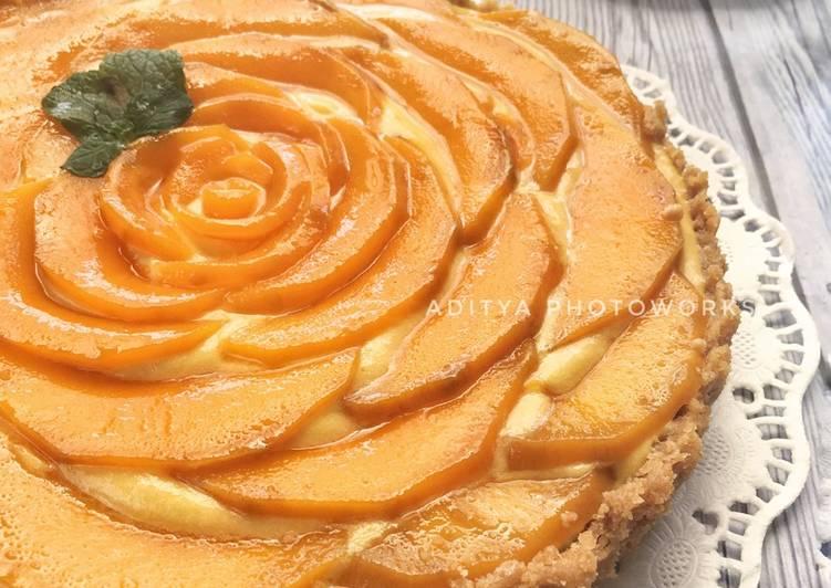 Resep No Baked Mango Pie