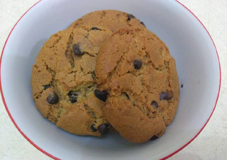 Resep Chewy Chocochip Cookies Simple