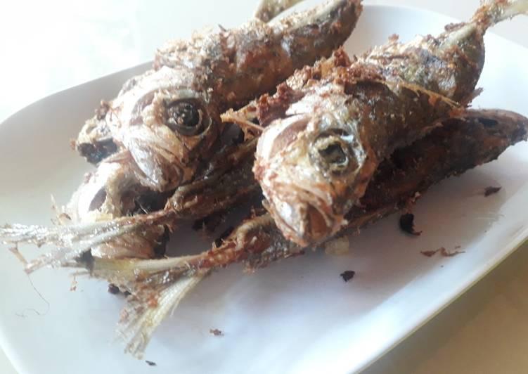 Resep Ikan Banyar Goreng