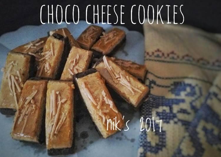 Resep Choco cheese cookies #ketopad