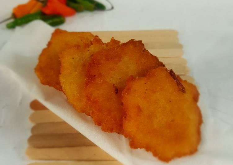 Resep Singkong parut goreng