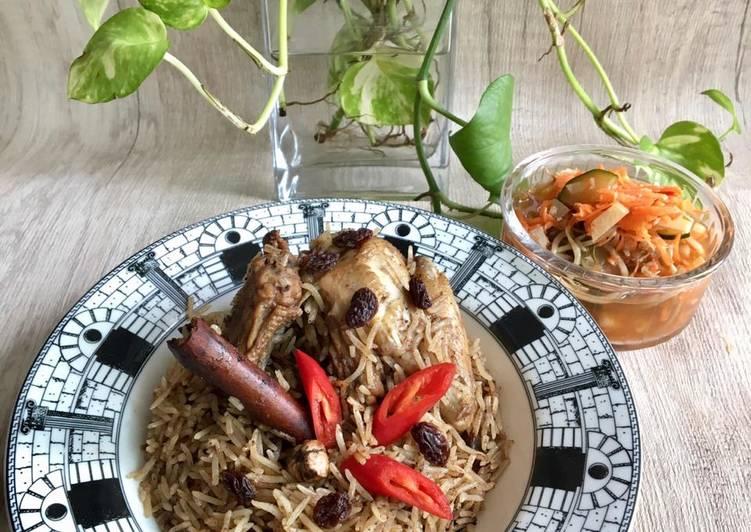 Resep Nasi Kebuli Ayam Simple