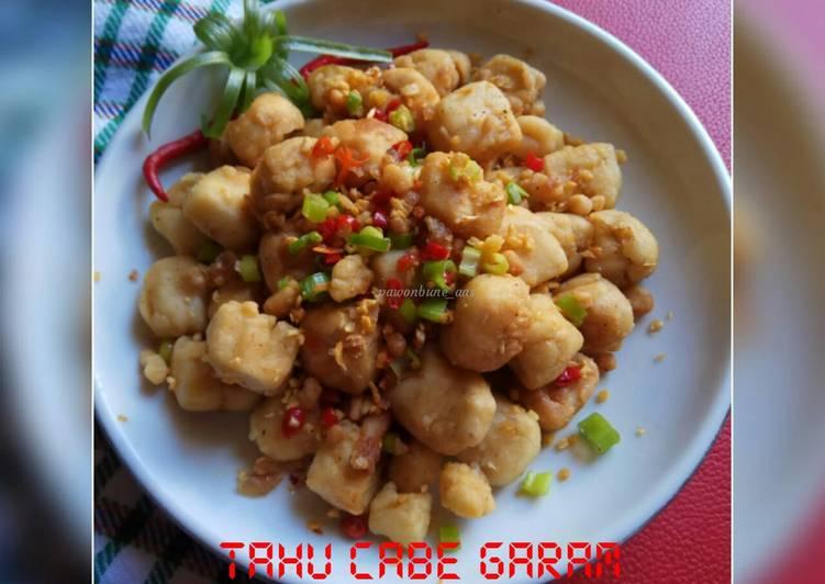 Resep Tahu Cabe Garam