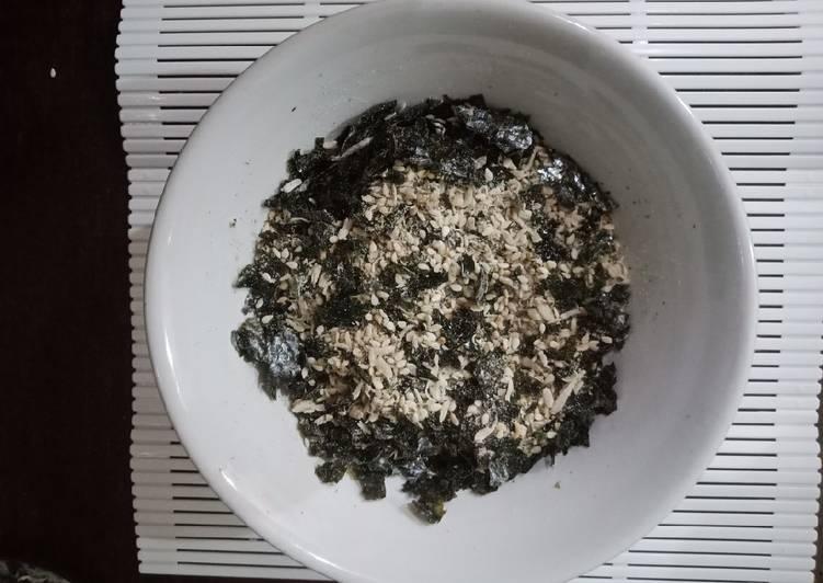 Resep Furikake Homemade ala Fe