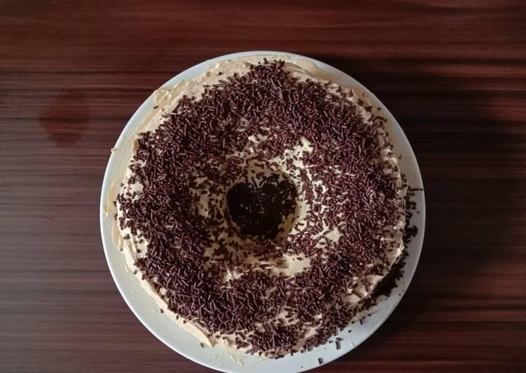 Resep Bolu kukus coklat (takaran sendok)