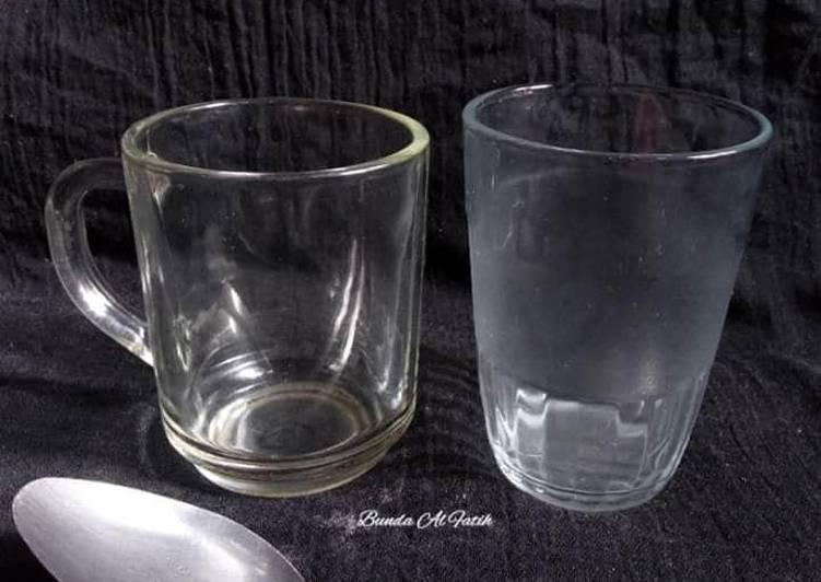 Resep Takaran menggunakan gelas & sendok