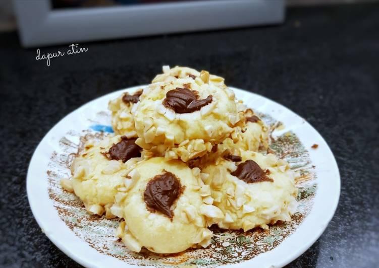 Resep Peanut Chooco Thumbprint Cookies