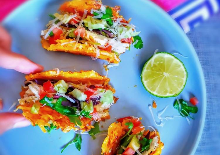 Resep Carrot taco shells