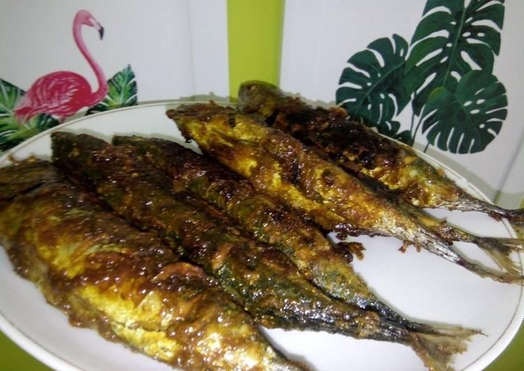 Resep Ikan bakar cakalang saus tiram