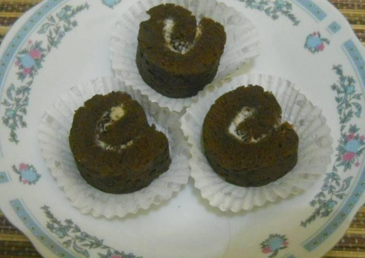 Resep Bolu gulung kukus coklat