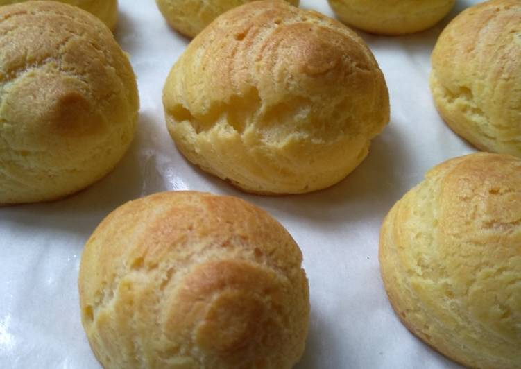 Resep Kue soes / choux pastry