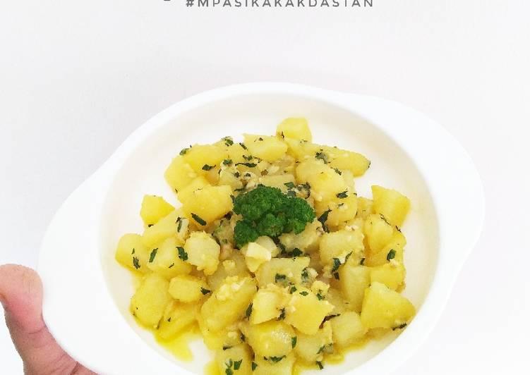 Resep Garlic Potato - MPASI