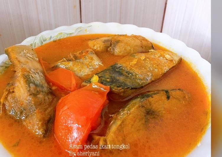 Resep Asam pedas ikan tongkol