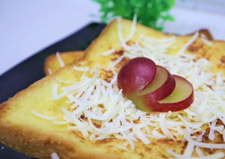 Resep Ide breakfast super mudah cuma tiga bahan utama