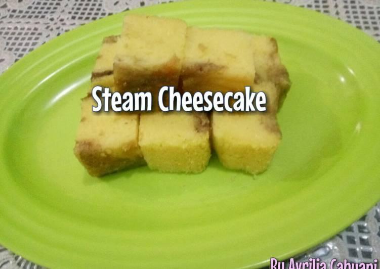 Resep Steamed Cheesecake (Bolu Kukus Keju)