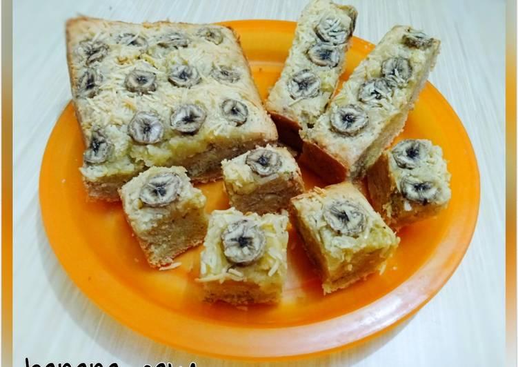 Resep 30.Banana cake (recook : frielingga sit)