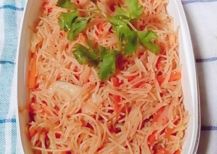 Resep Bihun goreng+sayuran
