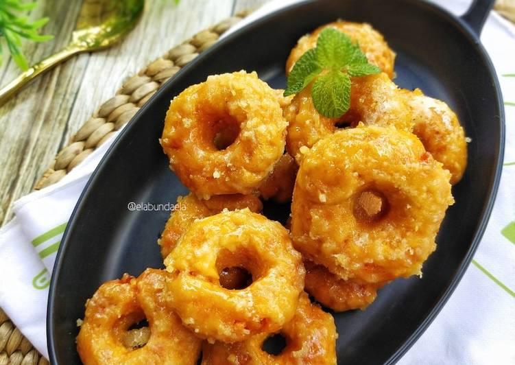 Resep Kue Keria (donat ubi)