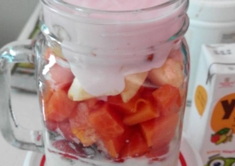 Resep Fruity Yogurt Oat