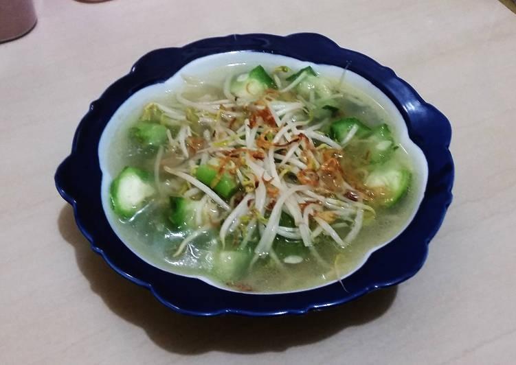 Resep Sayur Oyong Tauge
