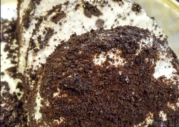 Resep Ice cream Oreo