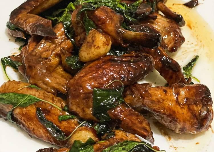 Resep San Bei Ji 3 cups chicken