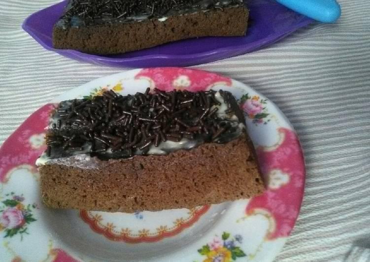 Resep Bolu coklat (teflon)