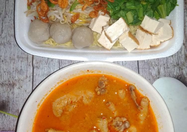 Resep Mie kari ayam