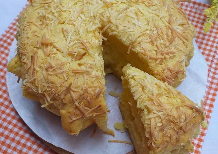 Resep Cake/bolu tape keju panggang