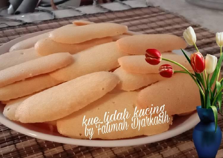 Resep Kue Lidah Kucing