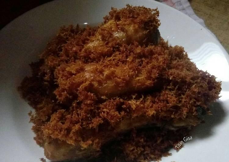 Resep Ayam Goreng Serundeng Kelapa #12