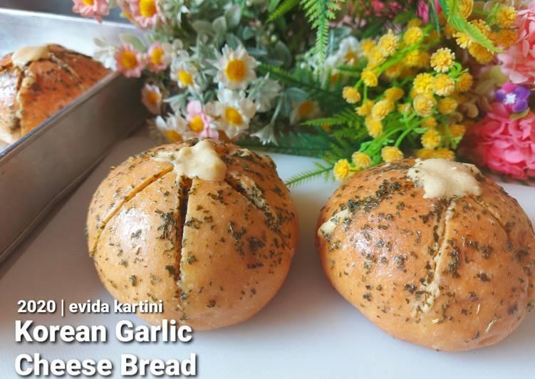 Resep Korean Garlic Cheese Bread