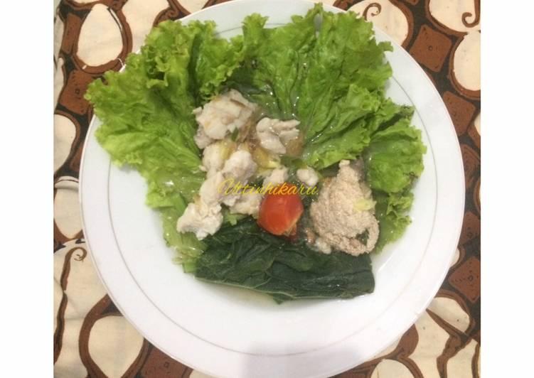 Resep Sup Ikan Patin (modifikasi dari Sup Ikan Batam)
