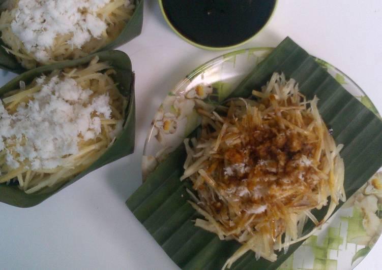 Resep Sawut singkong