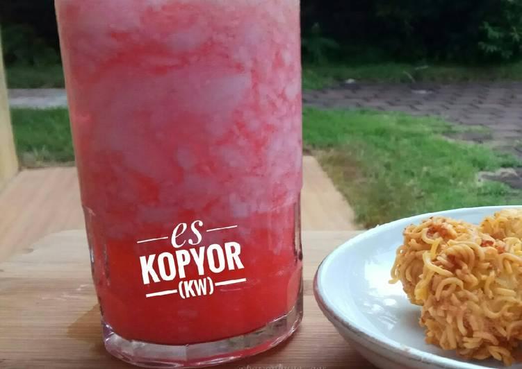 Resep Es Kopyor Kw (Agar2)