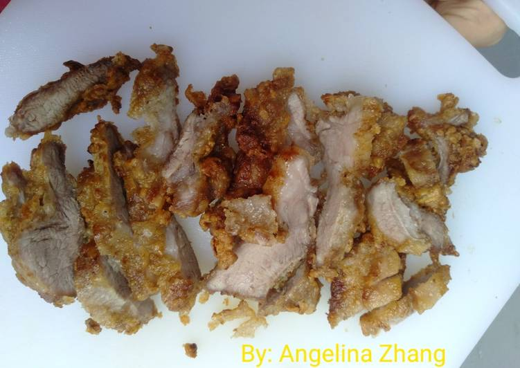 Resep Daging Goreng Simple crunchy