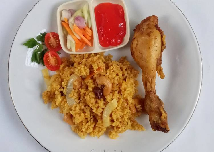 Resep Chicken Biryani