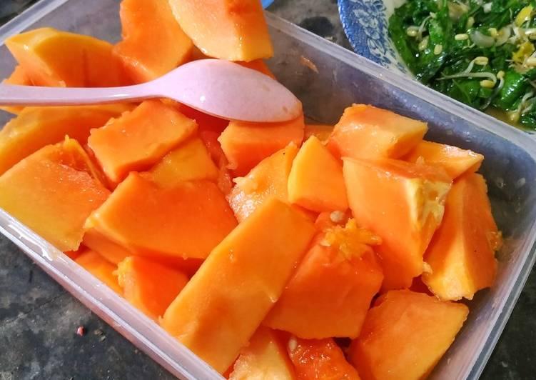 Resep Papaya Lemon