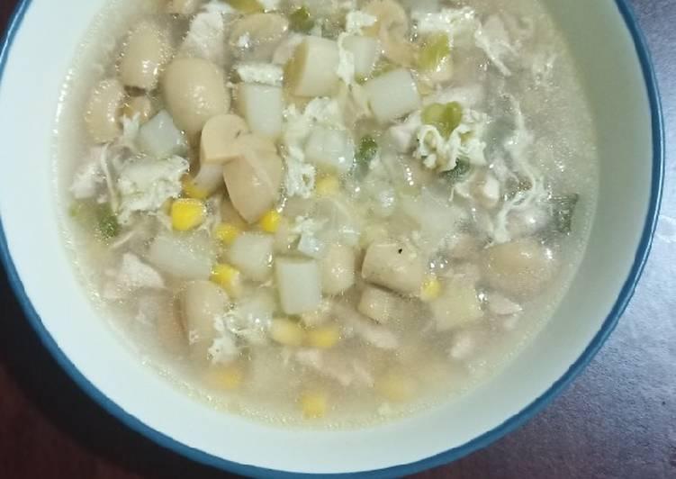 Resep Sup Asparagus Ayam Favorit Suami