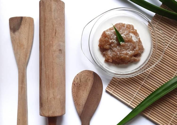 Resep Bubur Ganepo / Bubur Singkong