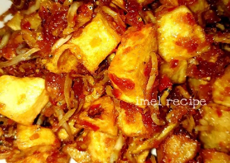 Resep Sambel goreng Baby teri dengan kentang