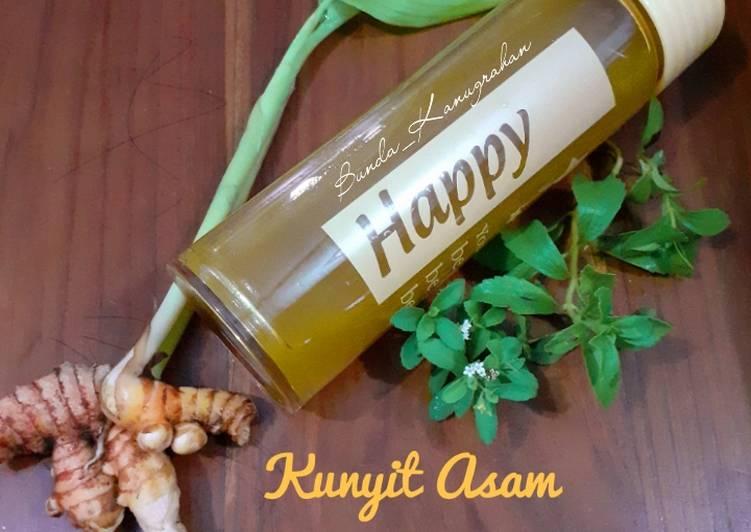 Resep Kunyit Asam Daun Stevia