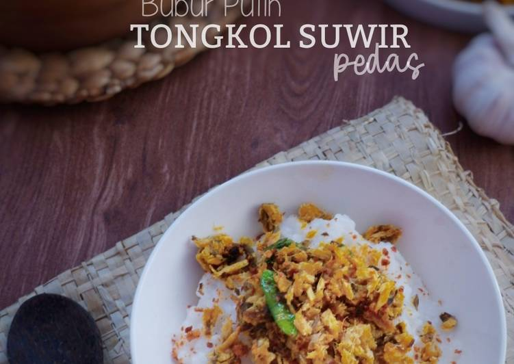 Resep Tongkol Suwir Pedas
