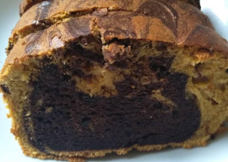 Resep Bolu jadul / marmer cake
