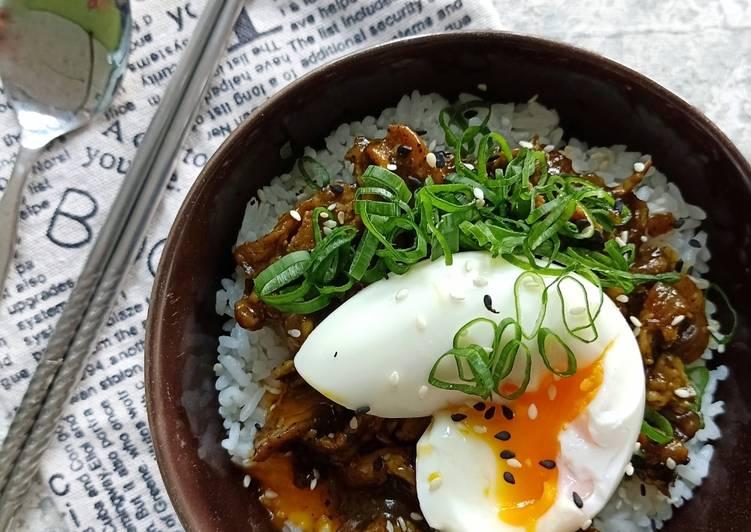 Resep Chicken Rice Bowl