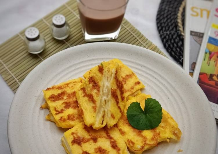 Resep Simple Cheesy Bites - French Toast