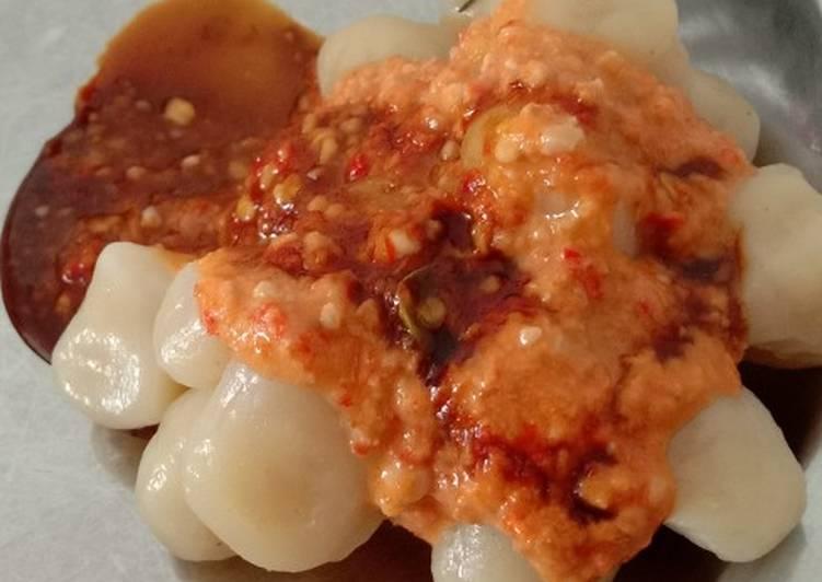 Resep Cilok sambel kacang